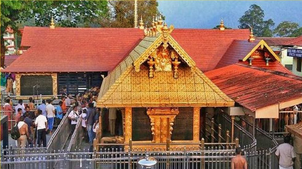 On Tuesday, a 12-year-old girl, who had come for darshan to Lord Ayyappa temple along with her father, was not allowed to proceed to the shrine.
