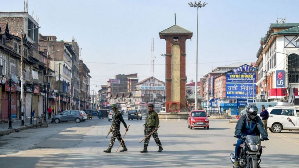Most shops and other business establishments in Kashmir were closed on Friday.