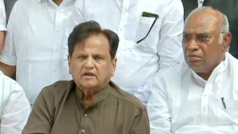 I can smell something is wrong the way oath was administered discretely, Ahmed Patel said.