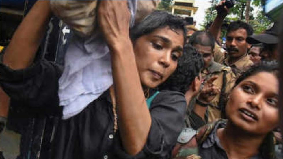 Rehana Fathima is a model and activist who was part of