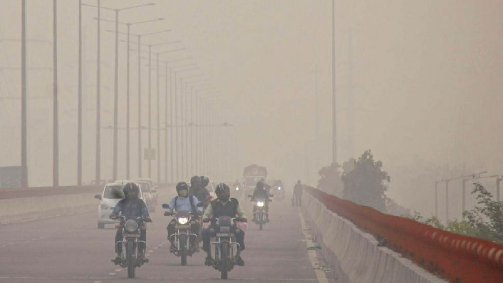More than five lakh litres of water was sprinkled at 13 pollution hotspots here over the past two days to hold down dust.