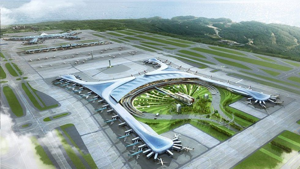 Jewar Airport, also called the Noida International Greenfield Airport will be India's biggest airport after completion.