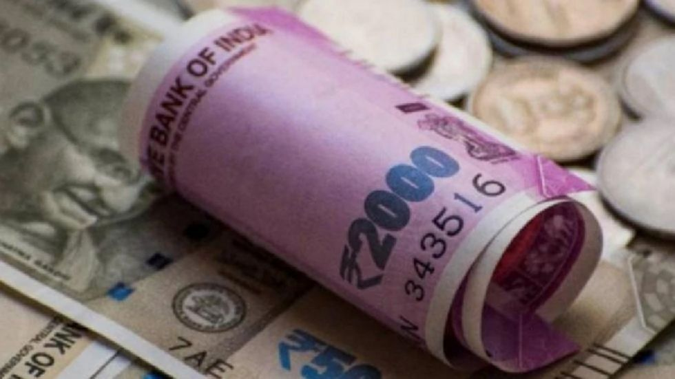 The Indian rupee opened on a weak note and fell 11 paise to 71.73 against the US dollar in early trade on Friday.