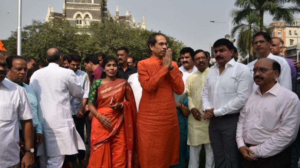 Maharashtra Chief Minister Uddhav Thackeray formally took charge of his office here on Friday afternoon.