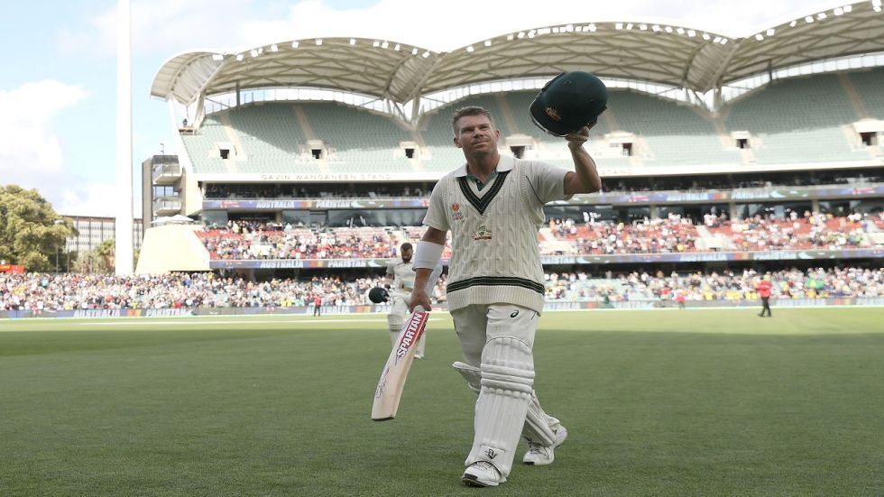 David Warner notched up his maiden triple century as Australia smashed plenty of records against Pakistan in Adelaide.