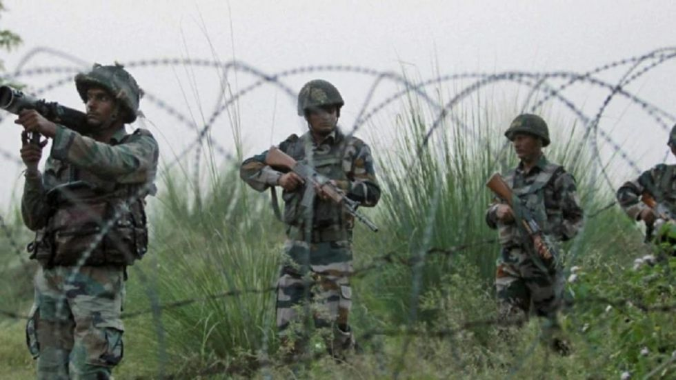 The Indian side retaliated strongly in which two Pakistani Army officers were injured, sources said.