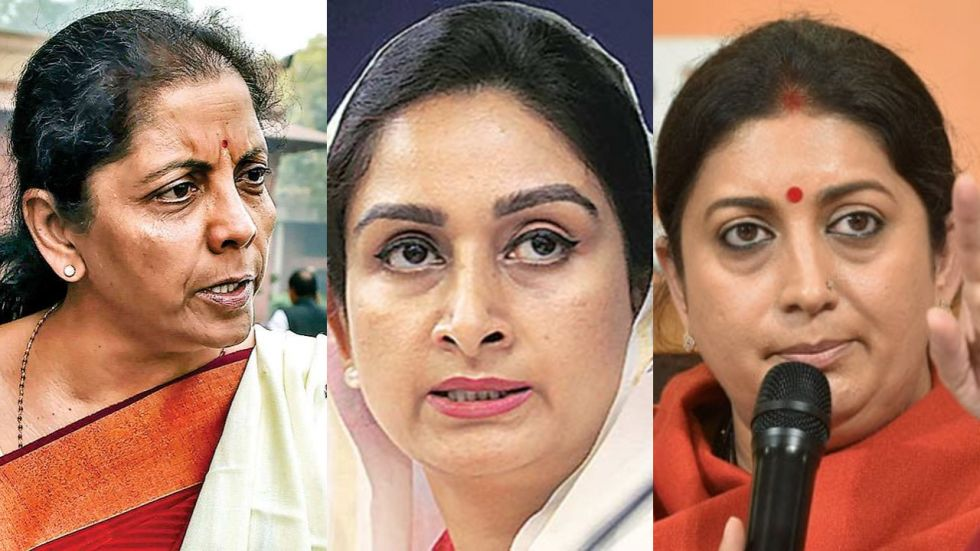 The silent women in BJP also include senior leaders such as Uma Bharti and Meenakshi Lekhi.