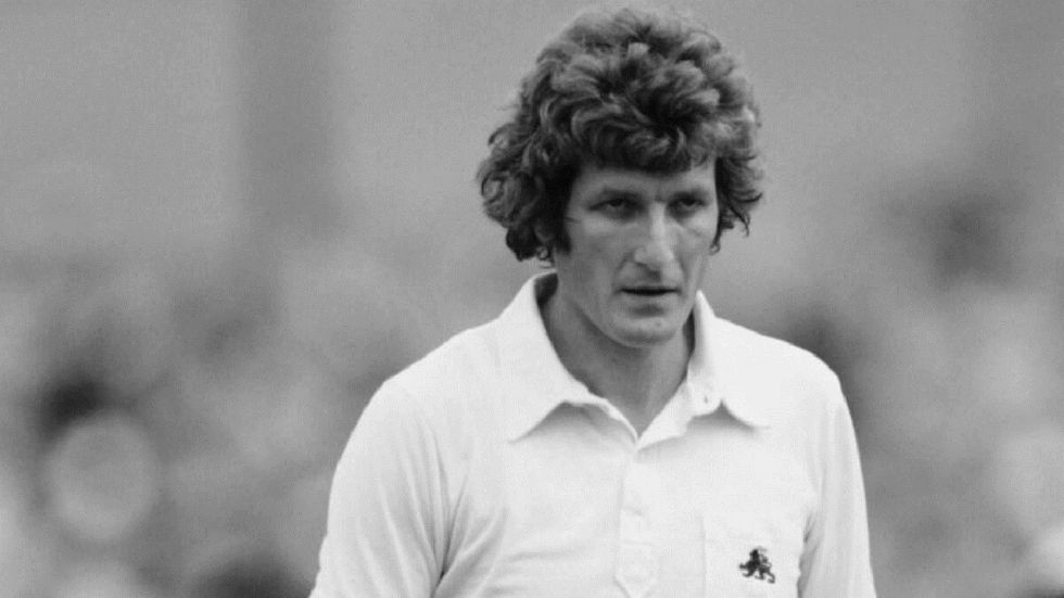 Former England cricket captain Bob Willis.