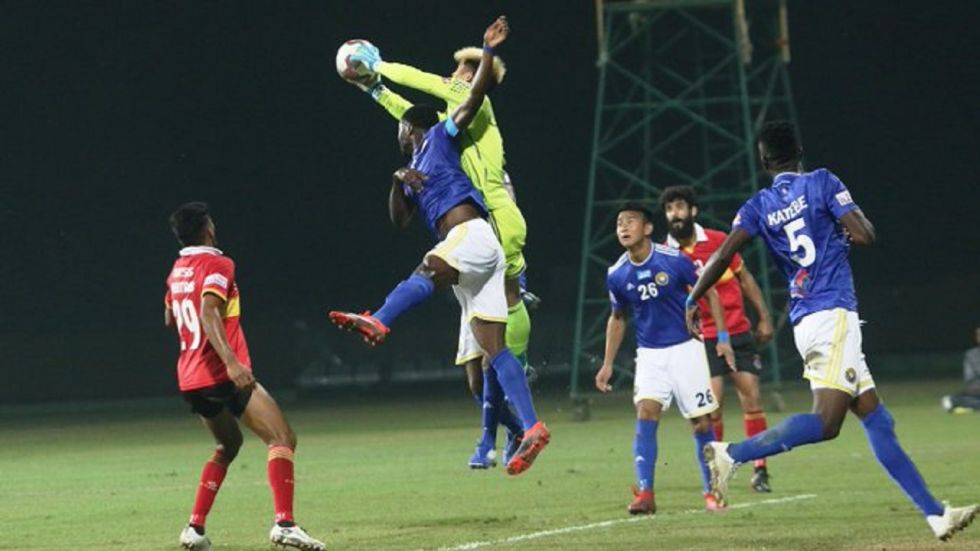 Real Kashmir FC, which finished third in its debut season last year, had opened its campaign with a 1-1 draw against East Bengal at Kalyani, West Bengal.