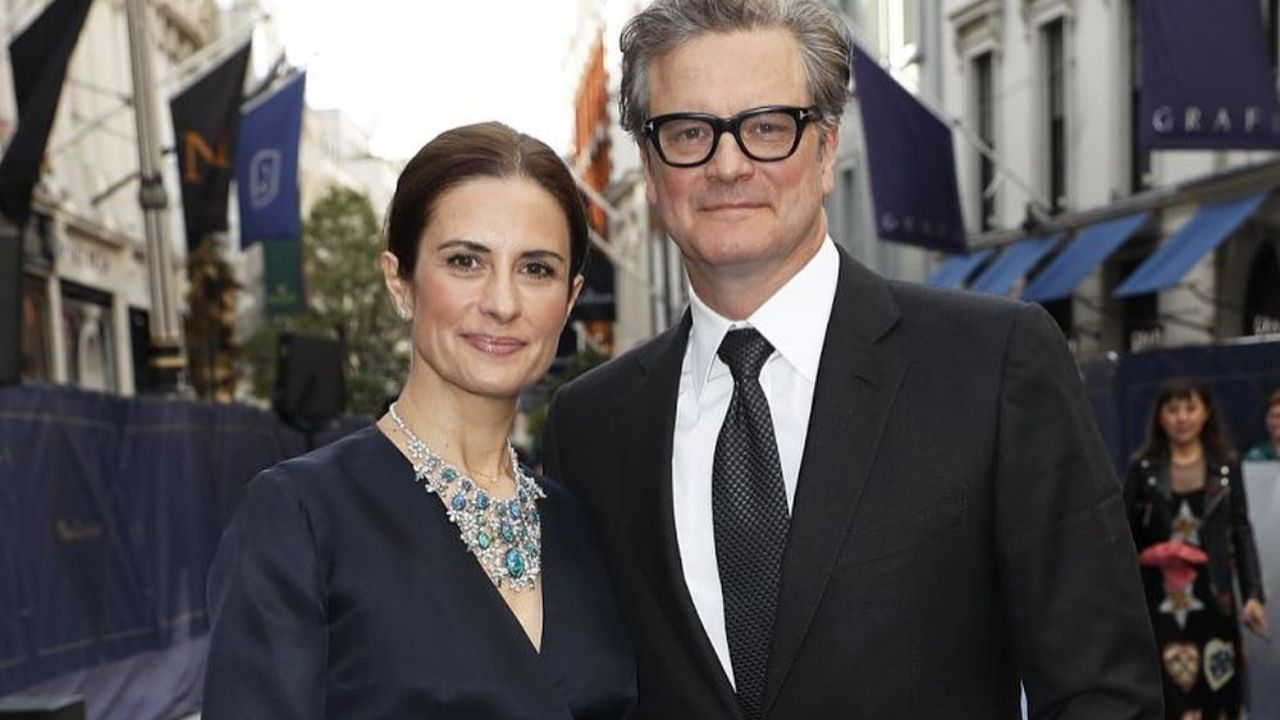 Pride And Prejudice Actor Colin Firth And Wife Livia ...