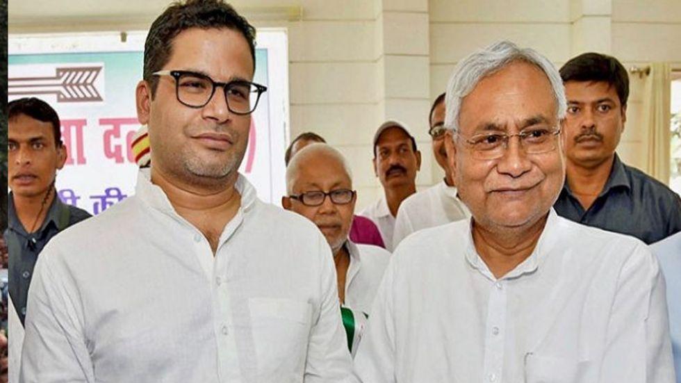 Prashant Kishor Offers Resignation To Nitish Kumar