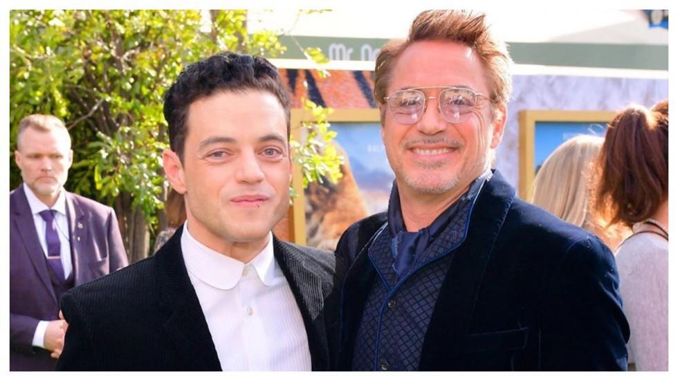 Rami Malek Thought Fake Robert Downey Jr Was Texting Him
