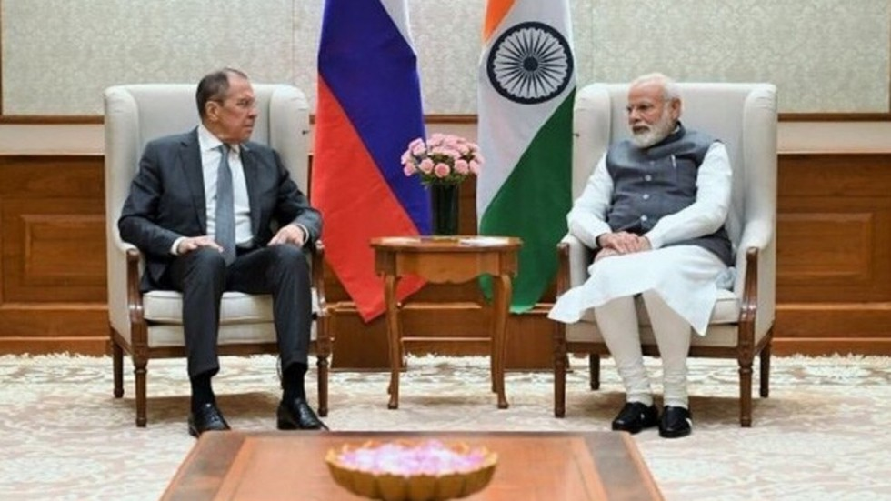 Russian Foreign Minister Sergey Lavrov briefed PM Modi about Russia's position on key international and regional issues.