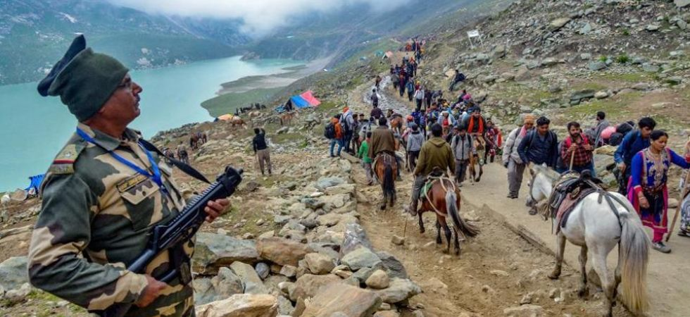 """SP Pani, IGP Kashmir said that, """"This year more than 10 serious attempts (terror attack attempts) were made at different places in the Valley."""