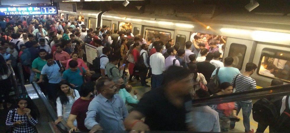 Technical snag hits Delhi Metro's Violet Line, passengers face hassles. (Representative image)