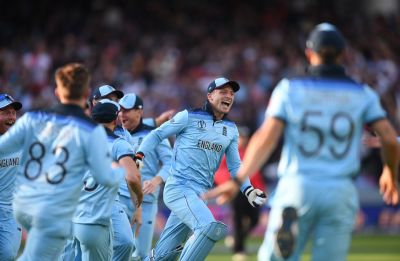 England win World Cup for first time after heart-stopping tie in super over vs New Zealand