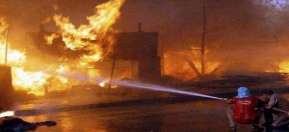 Delhi: Fire breaks out at Munirka furniture market, 12 fire tenders at spot. (Representative image)