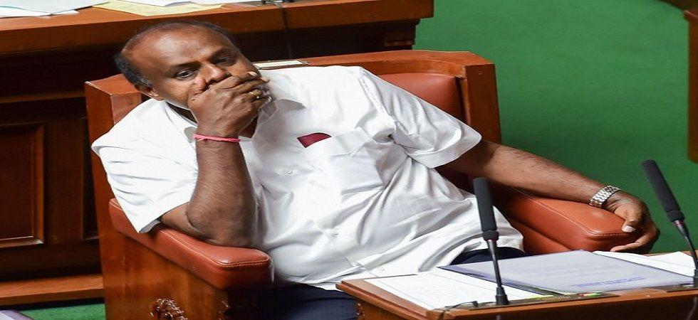 Karnataka HD Kumaraswamy. (File)