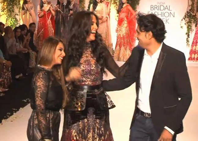 Anil Kapoor, Neha Dhupia dazzle at India Bridal Fashion Week