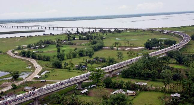 Features of India s longest Dhola Sadiya bridge in Assam