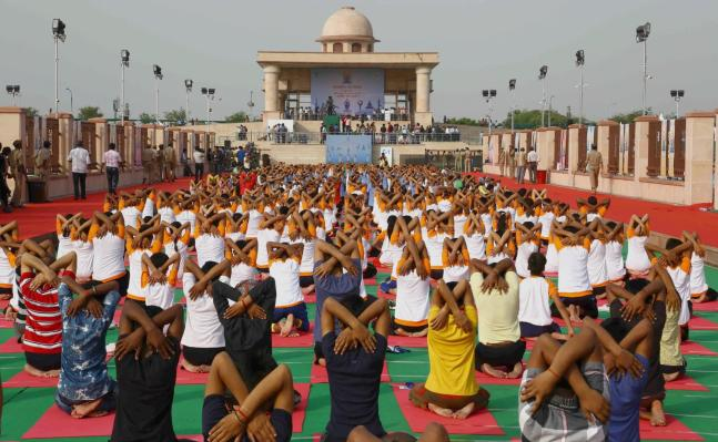 In Pictures World is gearing up to celebrate International Yoga Day on June 21