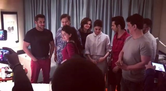 Judwaa 2 team welcomes Salman on board, shares pictures on Instagram