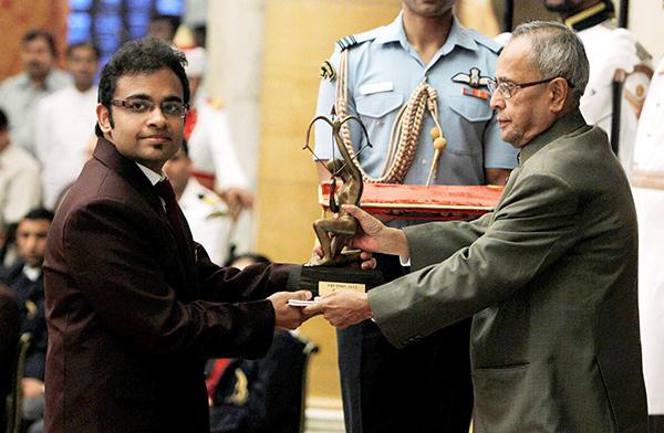 National Sports Awards ceremony