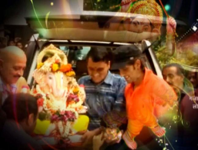 Bollywood celebs bid goodbye to Lord Ganesha