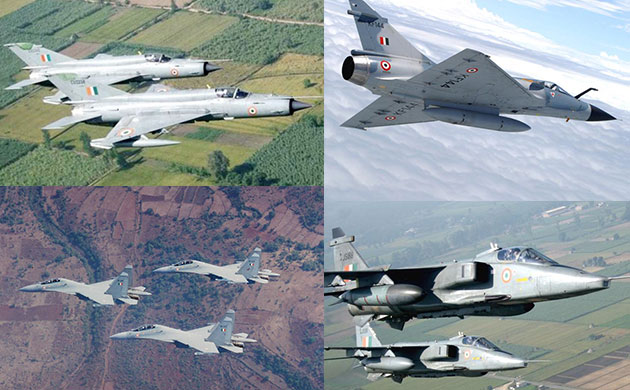 Air Force Day 2017 Timeline of India fighter jets