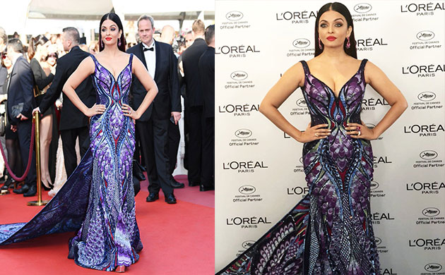 Aishwarya Rai Bachchan Cannes Film Festival 2018 pictures looks dress make up at French Rivera
