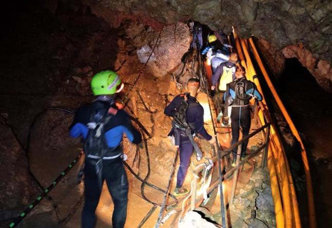 Thailand Cave Rescue Four boys out major challenges ahead