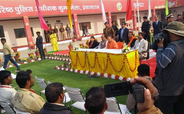 Kumbh 2019: Chief Minister Yogi Adityanath visit Prayagraj to review preparations