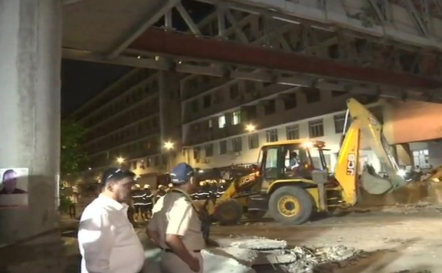 First pics of Mumbai footover bridge collapse