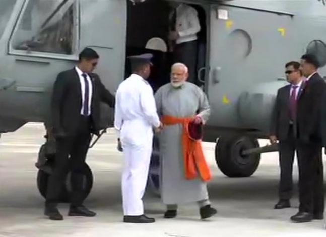 In Pictures: PM Modi offers prayers at Kedarnath shrine