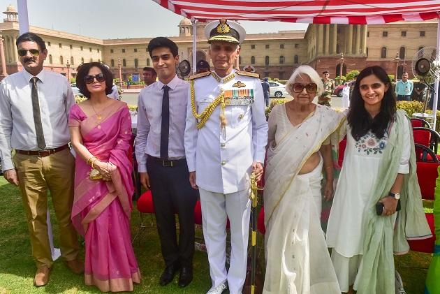 Admiral Karambir Singh assumes charge as new chief of Naval Staff see pics