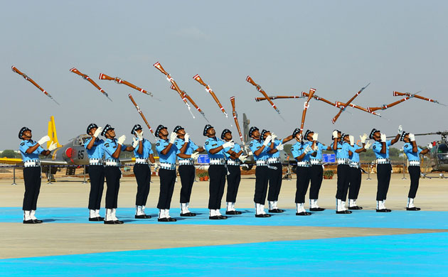 IN Pics: IAF chief BS Dhanoa reviews Combined Graduation Parade at Air Force Academy