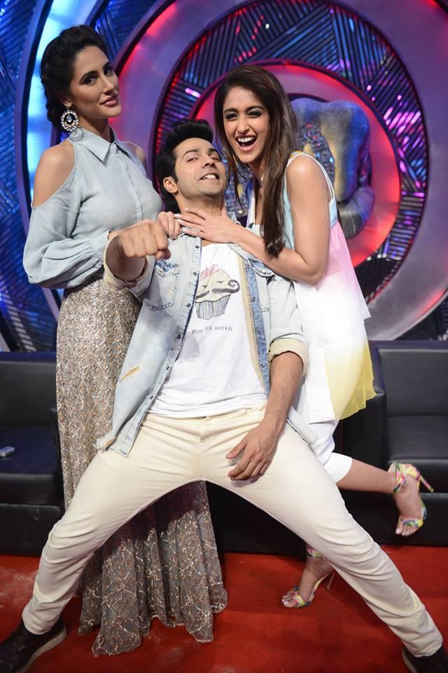 The 'Boo' moment for Ileana, Varun, Nargis