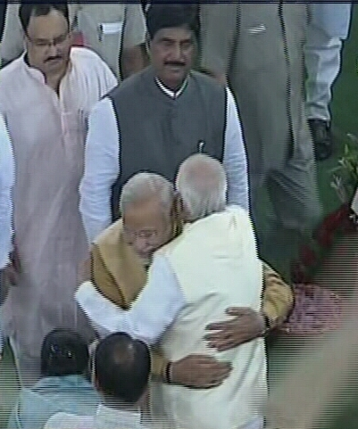 This is how Modi entered Parliament for the first time