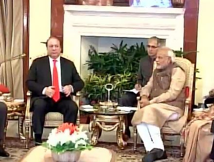 Narendra Modi takes charge as PM: Day 1 in pics!
