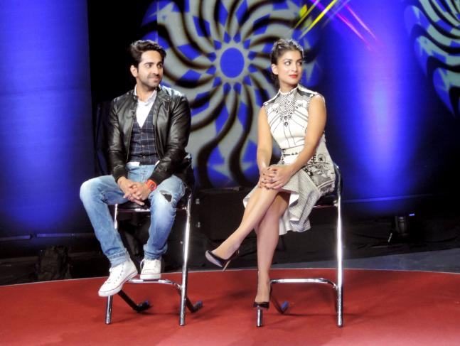 Hawaizaade Ayushmann, Pallavi @ News Nation