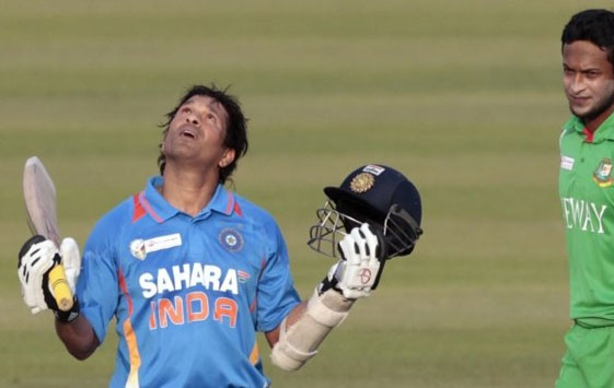 Sachin Ramesh Tendulkar over the years