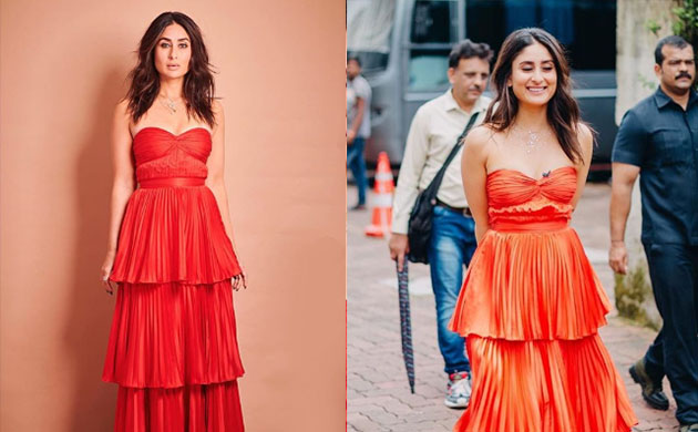 Kareena Kapoor Khan stuns in subtle red outfit and we can't take our eyes off her