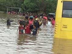 Chennai waterlogged