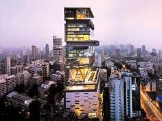 India costliest building Take a look inside Ambani's Antilia