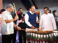 On the eve of Independence Day, Centre is organising 'Bharat Parv'at Rajpath lawns
