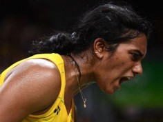 Rio Olympics 2016: P V Sindhu in action against Nozomi Okuhara in semi-final clash