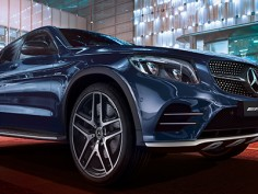 Mercedes AMG GLC 43 Coupe launched in India check out price features here