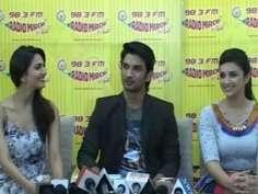 Shuddh Desi Romance Promotion @ Radio Mirchi