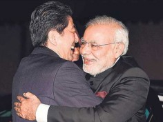 PM Modi birthday From Shinzo Abe Donald Trump to Obama check pics of foreign dignitaries floored by Indian PMs hug diplomacy