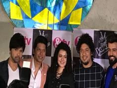 Voice India Kids season 2 Himesh Reshammiya Shaan Palak Muchhal Papon launch the show in Mumbai